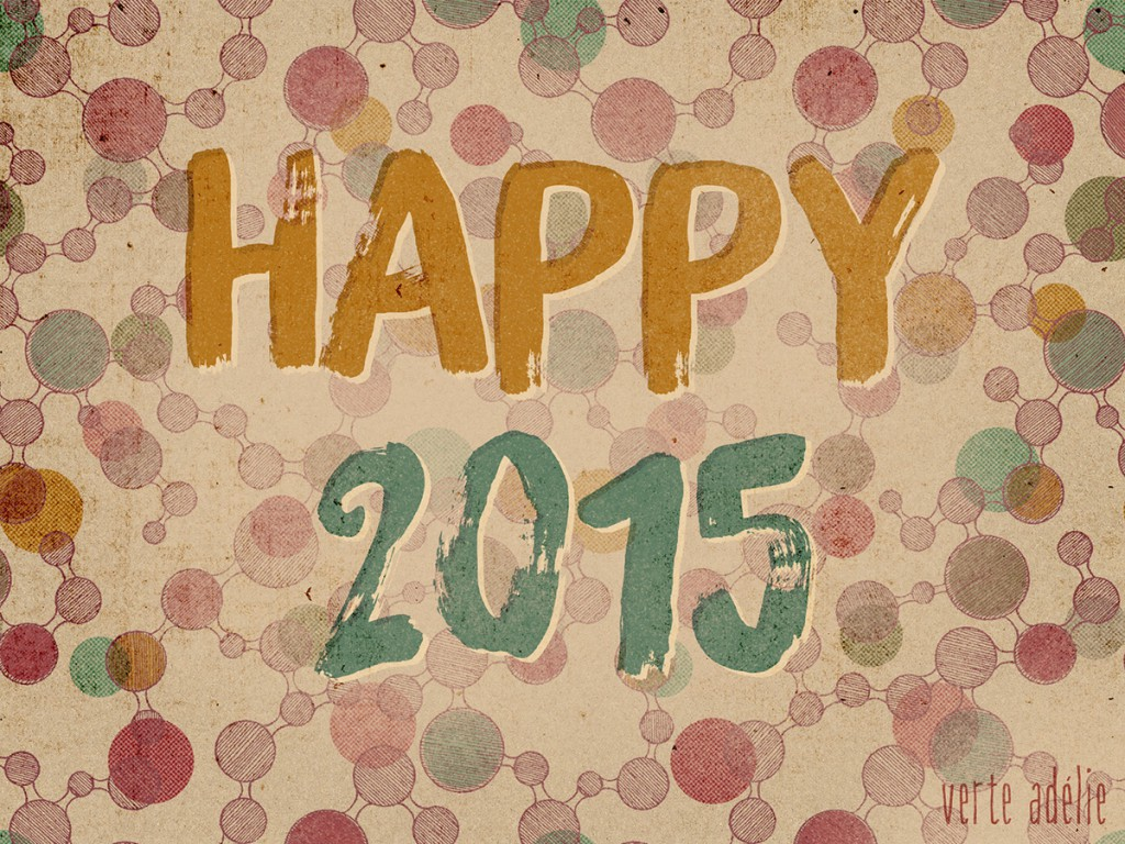 Happy 2015 by Verte Adelie